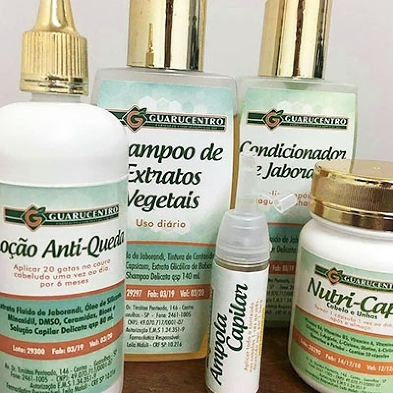 Cosmético Natural para Cabelos Farmácias Jaçanã - Produto Cosmético Natural