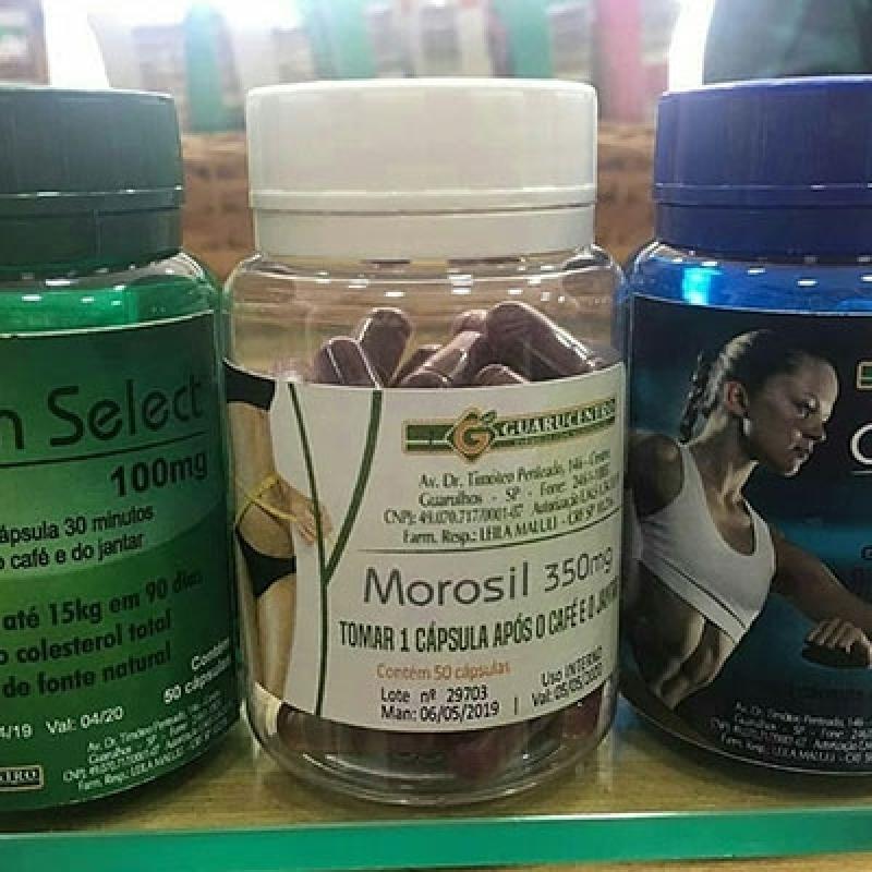 Remédio de Farmácia de Manipulação Morosil Várzea do Palácio - Farmácia de Manipulação para Beleza